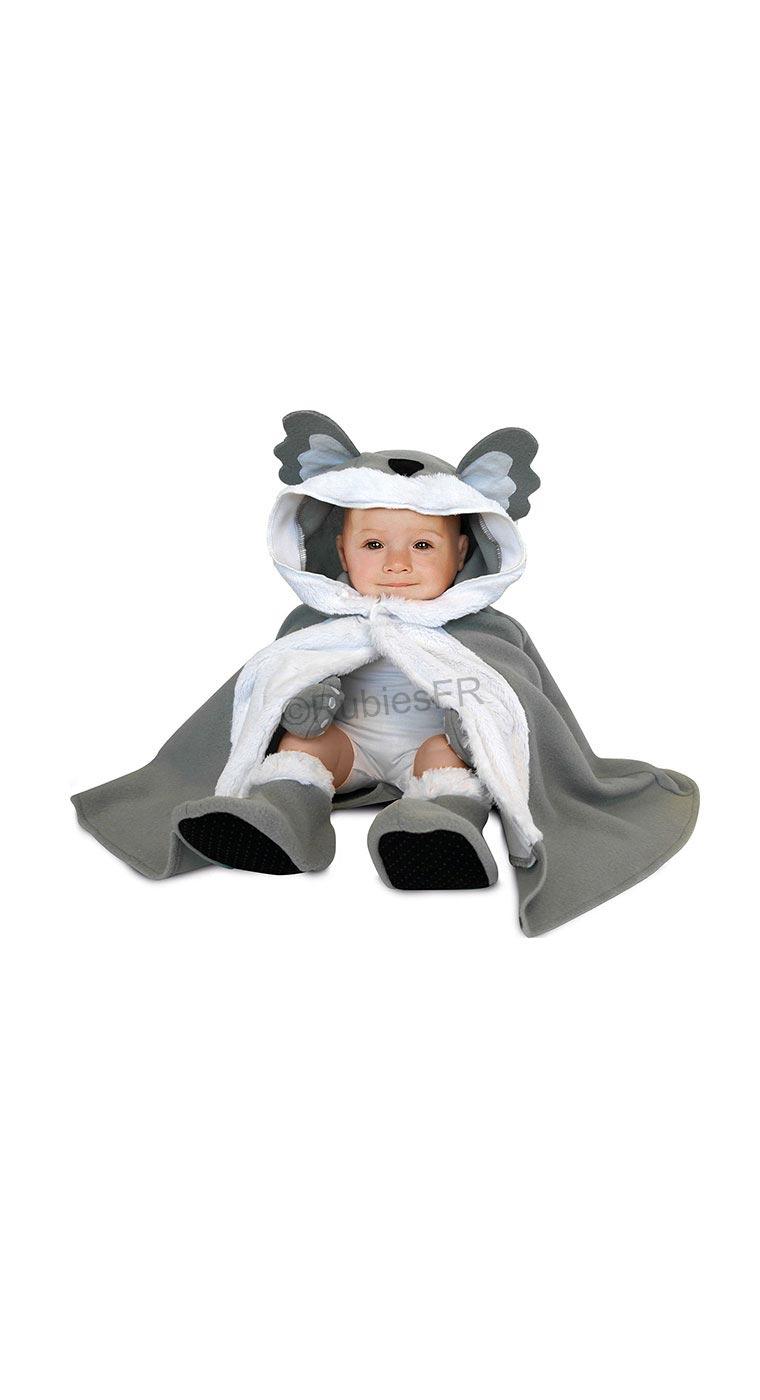 38ede1d843fa Déguisement bébé Koala (cape + chapeau + gants et chaussons)-24 mois