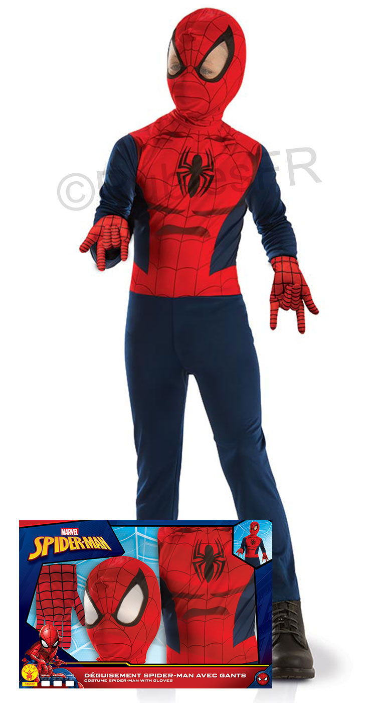 Déguisement luxe Ultimate Spider-Man   Rubie s France - Leader ... 2139c9724f83