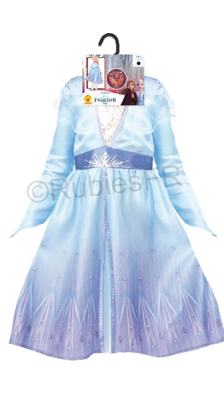 Cod.325931 Déguisement classique Anna La Reine des neiges 2 fille
