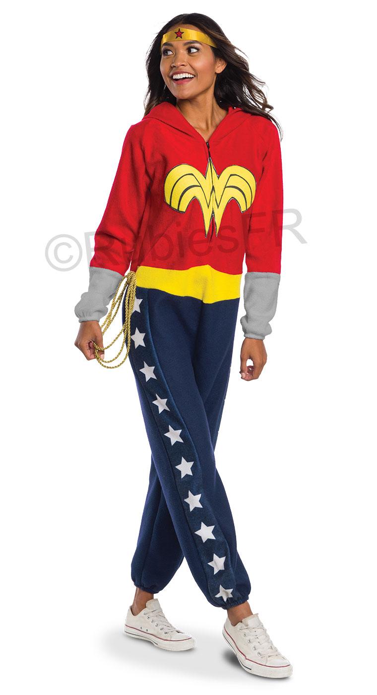 Combinaison Pyjama Wonder Woman Rubie S France Leader Mondial Du Deguisement