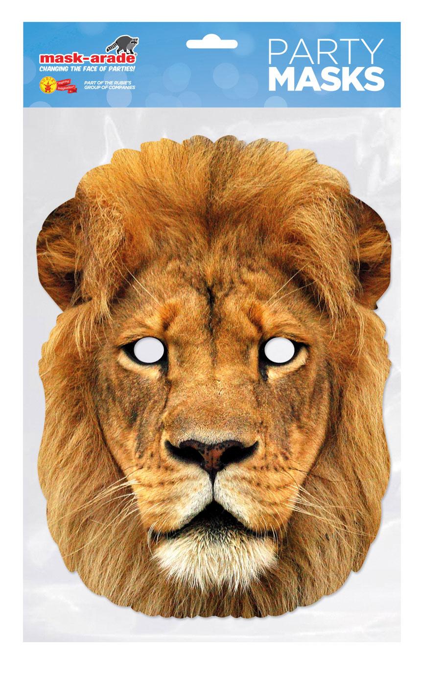 masque carton lion rubie 39 s france leader mondial du d guisement. Black Bedroom Furniture Sets. Home Design Ideas