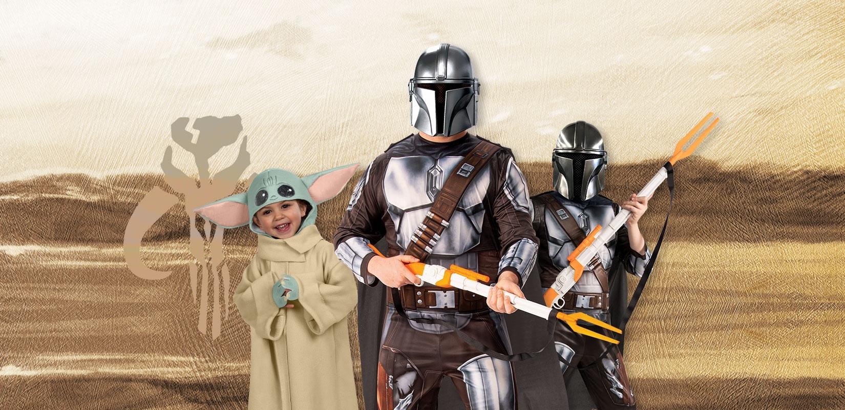 déguisement costume Mandalorian adulte enfant bébé Yoda
